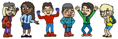 New clothing available in the Bitstrips Character Builder!