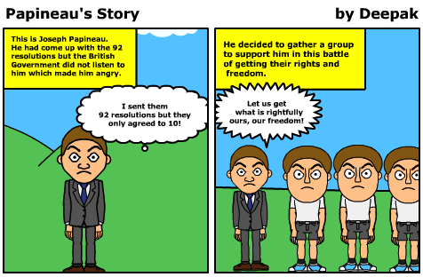 Bitstrips for Schools - 2 millionth comic by Deepak